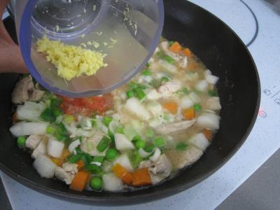Pâtes complètes aux carottes et légumes pour diabétiques - 9.4