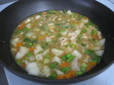 Pâtes complètes aux carottes et légumes pour diabétiques - 10.4