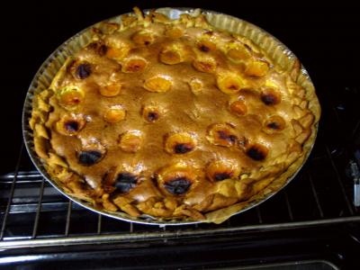 Tarte aux abricots pour diabétiques - 4.2