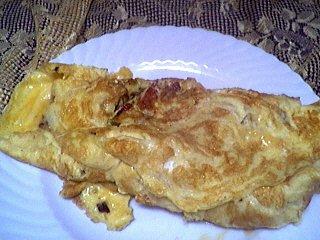 Recette Omelette aux ognasses à la landaise