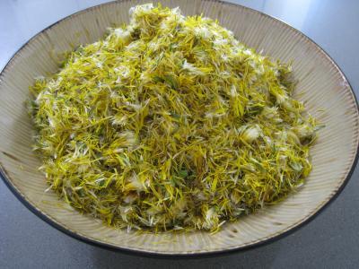 Gelée ou cramaillote de fleurs de pissenlits - 2.3