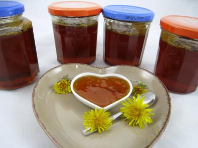 Recette Gelée ou cramaillote de fleurs de pissenlits