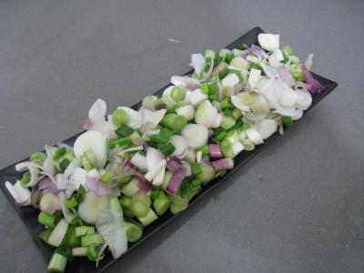 Polenta aux ognasses, aux épinards et aux asperges - 1.4