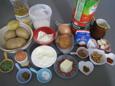 Ingrédients pour la recette : Koftas de pommes de terre au mascarpone façon indienne