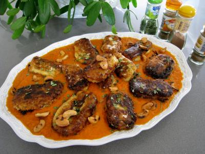 Recette Koftas de pommes de terre au mascarpone façon indienne