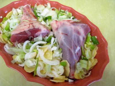 Souris d'agneau aux pommes de terre et aux oignons - 5.2