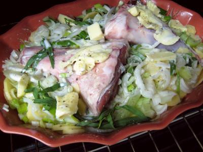 Souris d'agneau aux pommes de terre et aux oignons - 7.2