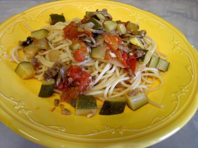 Spaghettis aux courgettes - 10.4