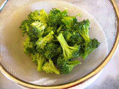 Tagliatelles d'épeautre aux brocolis et au magret - 6.2