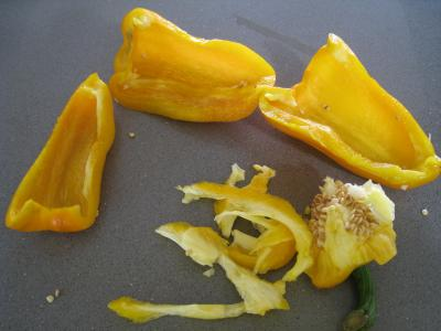 Sauté d'asperges aux oignons et poivron - 2.4