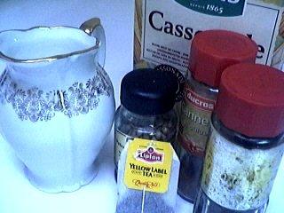 Ingrédients pour la recette : Thé indien