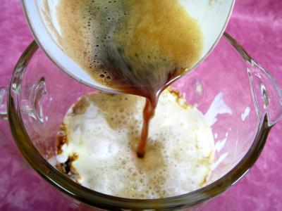 Tarte pascale au café et son coulis de poires - 6.1
