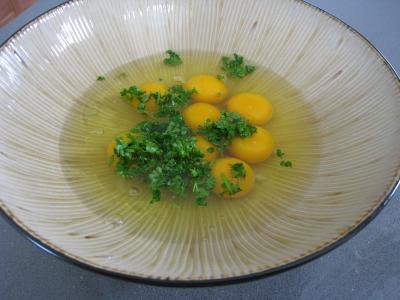 Omelette d'asperges au chou et aux ognasses - 8.2