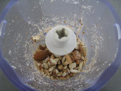 Verrines de poires aux noix de cajou et aux amandes - 1.2