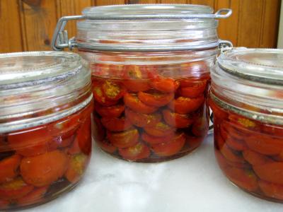 Recette Tomates-cerise confites