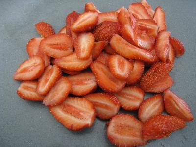 Sauce glacée aux fraises - 1.3