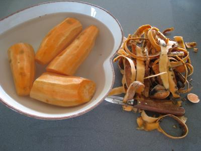 Sauté de chou pointu aux patates douces - 1.4