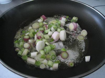 Sauté de chou pointu aux patates douces - 3.4