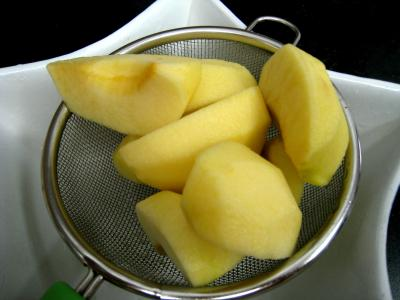 Boudin aux pommes et aux petits pois - 4.3