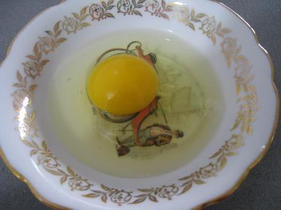 Clafoutis aux petits pois et aux poires - 1.2