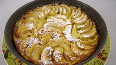 Recette Flamusse ou flan aux pommes façon bourguigonne
