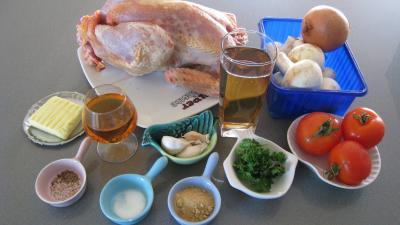 Ingrédients pour la recette : Poulet à la lyonnaise