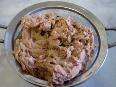 Clafoutis aux fèves et au thon - 1.4