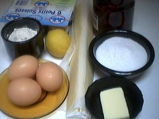Ingrédients pour la recette : Clafoutis aux cerises au sirop