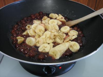 Confiture de cerises et bananes - 4.3