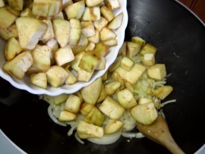 Aubergines aux oignons à la chinoise - 7.1
