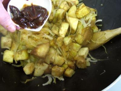 Aubergines aux oignons à la chinoise - 7.3