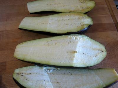 Aubergines farcies façon libanaise - 1.3
