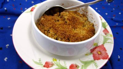 Image : recette Crumble aux pommes