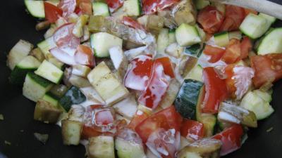 Aubergines aux épices et ces coquillettes - 7.3