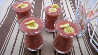 Recette Boisson fraises et bananes à la mexicaine