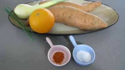 Ingrédients pour la recette : Salsa de patates douces à la mexicaine