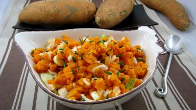 Recette Salsa de patates douces à la mexicaine