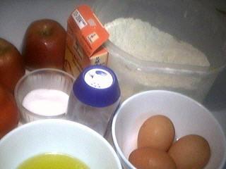 Ingrédients pour la recette : Beignets levés aux pommes