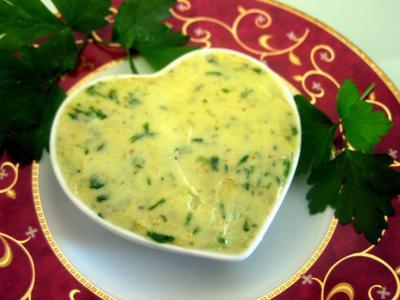 Recette Ramequin de beurre aux herbes aromatiques