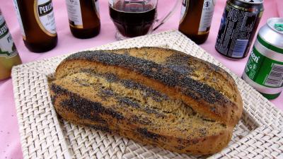 pain à base d'alcool : Pain à la bière
