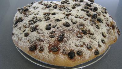 Pain de Gallu aux noix, raisins secs et dattes - 9.2