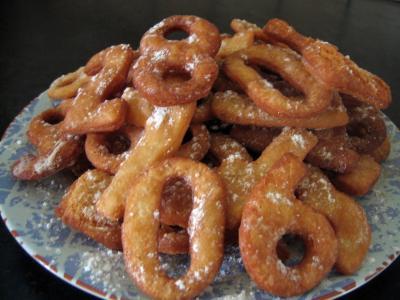 Recette Biscuits chiffrés de mardi gras