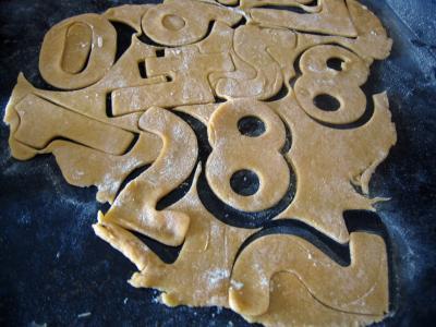 Biscuits chiffrés de mardi gras - 6.3