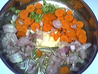Blancs d'encornets aux carottes - 3.3