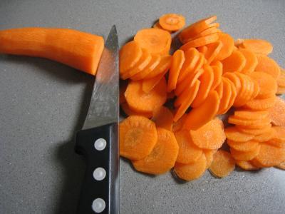 Blancs d'encornets aux carottes - 1.3