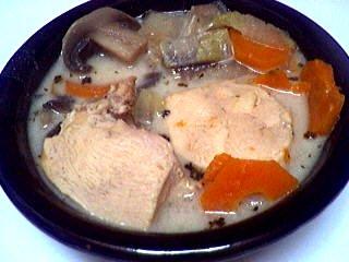 Recette Blancs de poulet en blanquette