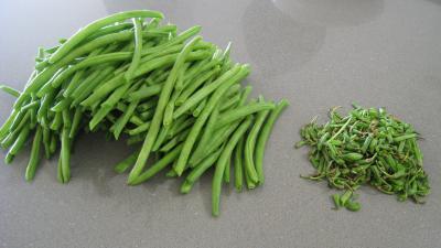 Haricots verts aux lardons - 4.1