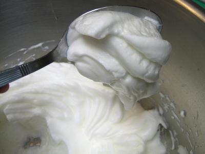 Recette Blancs en neige
