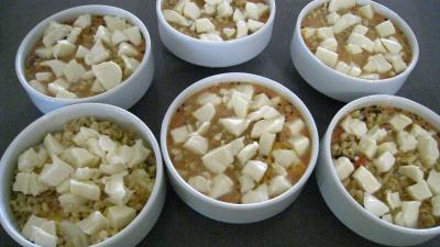 Blé gratiné aux tomates et à la Mozzarella - 15.1