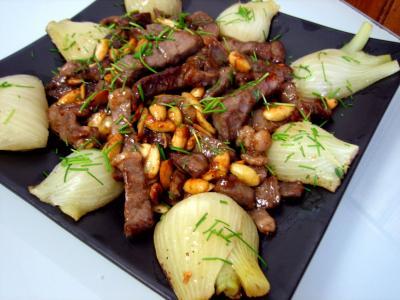 Image : recette Boeuf aux amandes façon Orientale